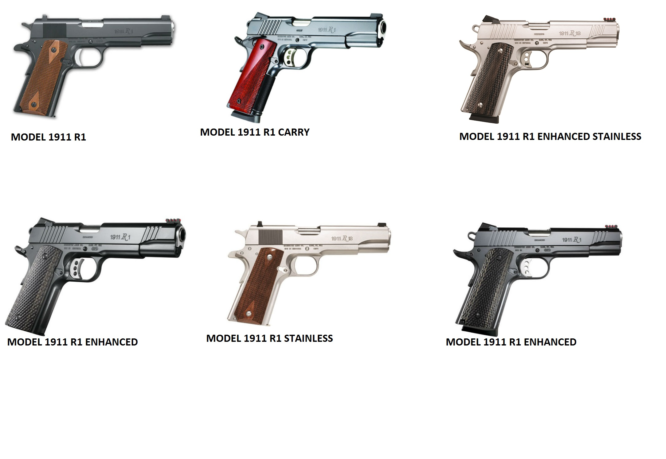 Remington 1911 Halls Firearms