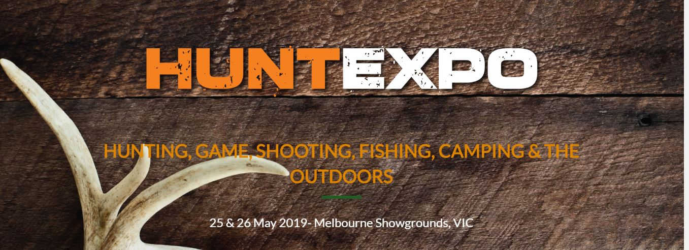 Come and See us at HUNTEXPO in Victoria